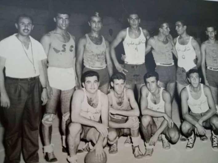 منتخبا حلب واللاذقية 1956