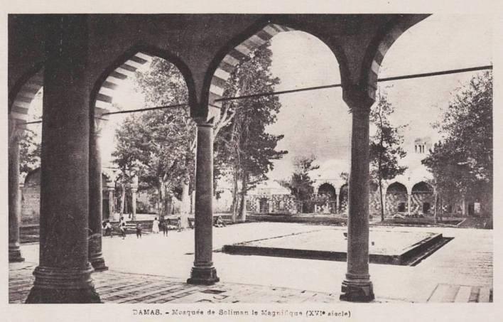 دمشق - التكية السليمانية عام 1910