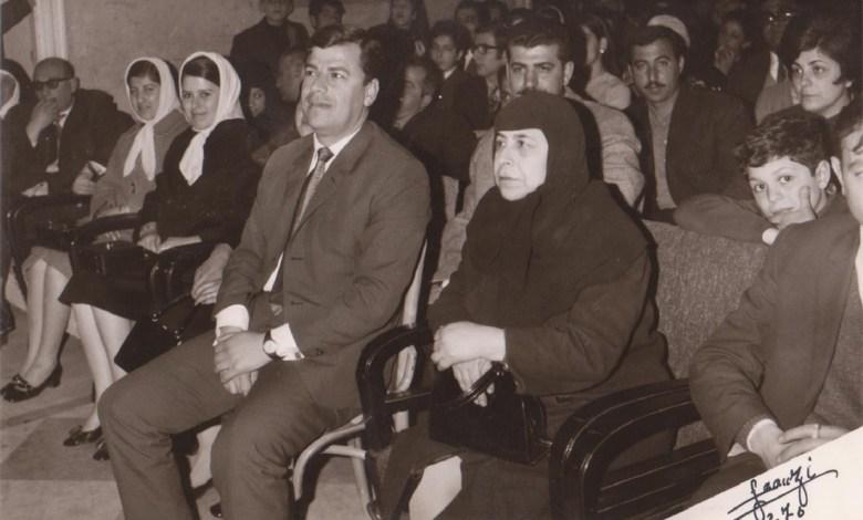 حفل توزيع الجوائز في إعدادية الحكمة في حلب عام 1970