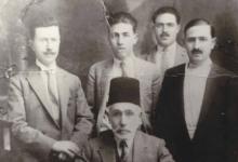 عبد الرحمن آغا الشيشكلي وأبناؤه الثلاثة