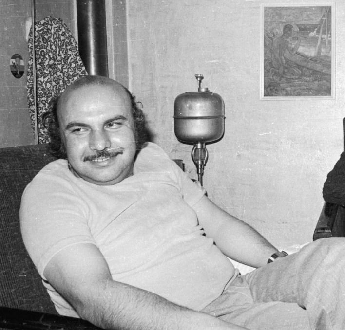 الفنان التشكيلي تركي محمود بك 1977