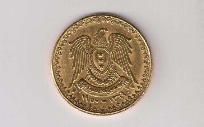 أسعار الليرة السورية - 01 نيسان 1950