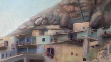 قرية معلولا .. لوحة للفنان خالد الأسود (3)