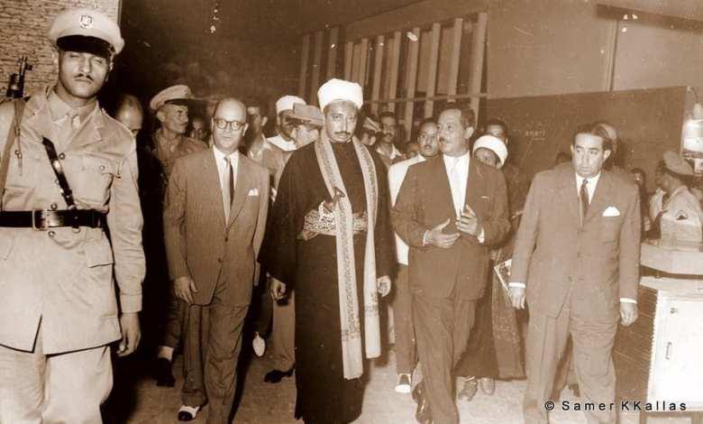 دمشق 1958- خليل كلاس وولي العهد اليمني محمد البدر (2/1)