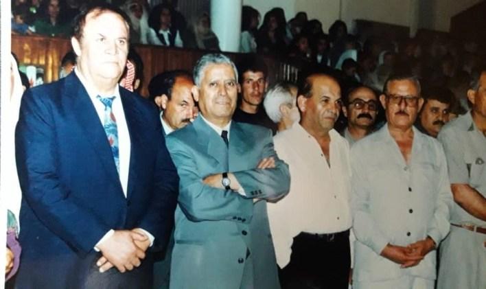 فؤاد حمزة بين سلمان البدعيش وفهد بلان في السويداء 1995
