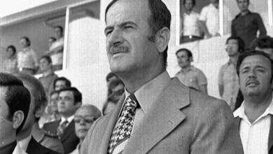 حافظ الأسد في افتتاح ملعب العباسيين (4)