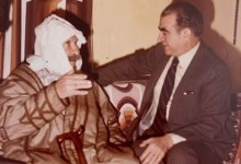 عبد السلام العجيلي في زيارة لـ سلطان الأطرش في سبعينات القرن العشرين (1)