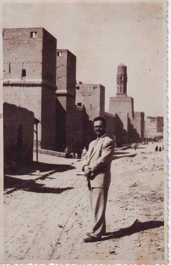 يوسف الدبيسي أمام يور القاهرة عام 1961