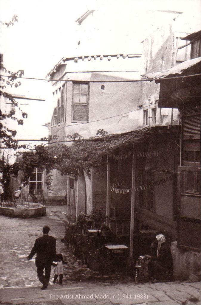 نزلة مقهى النوفرة في دمشق في ستينيات القرن العشرين