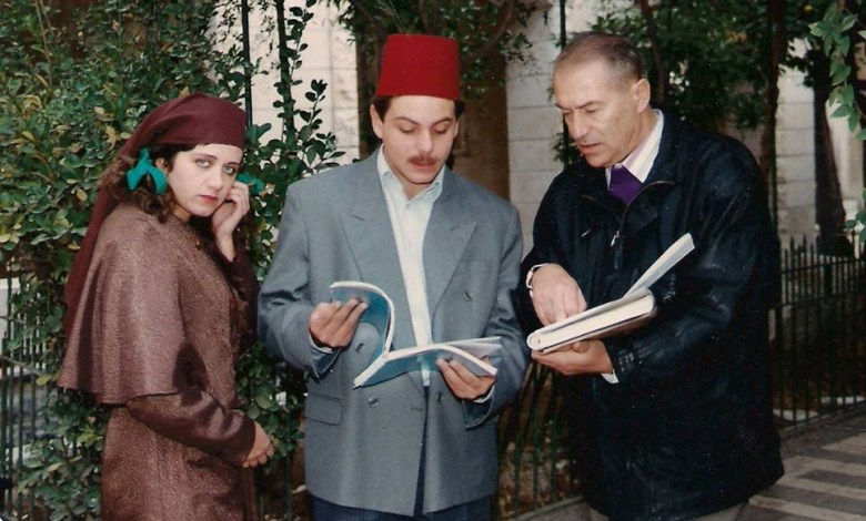 الفنان سيف سبيعي في مسلسل دمشق يا بسمة الحزن 1992