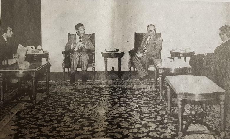 مقابلة حافظ الأسد مع صحيفة النهار عام 1977