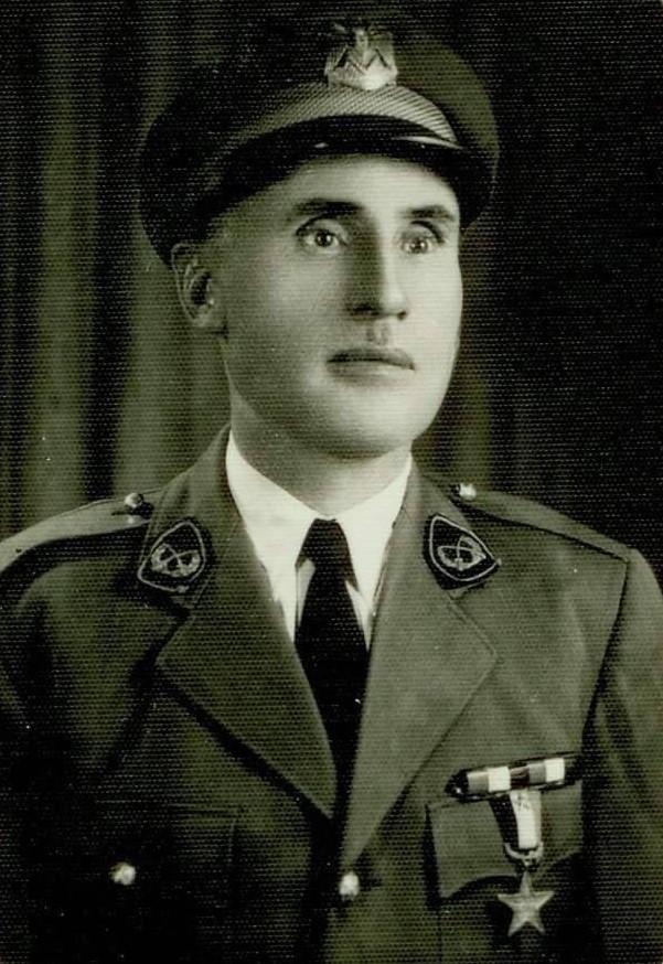المساعد الأول عبدالسلام رفعت لاش رئيس الحرس الجمهوري 1951