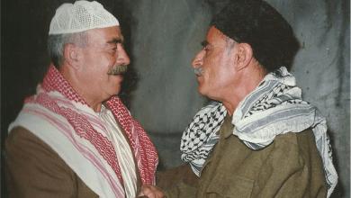 أدهم الملا ومحمد العقاد في مسلسل أيام شامية عام 1992