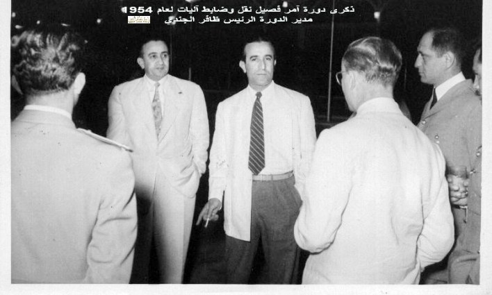 ذكرى دورة آمر فصيل نقل وضابط آليات عام 1954  (1)