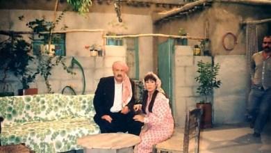 رفيق سبيعي ومنى واصف في مسلسل الخشخاش عام 1990