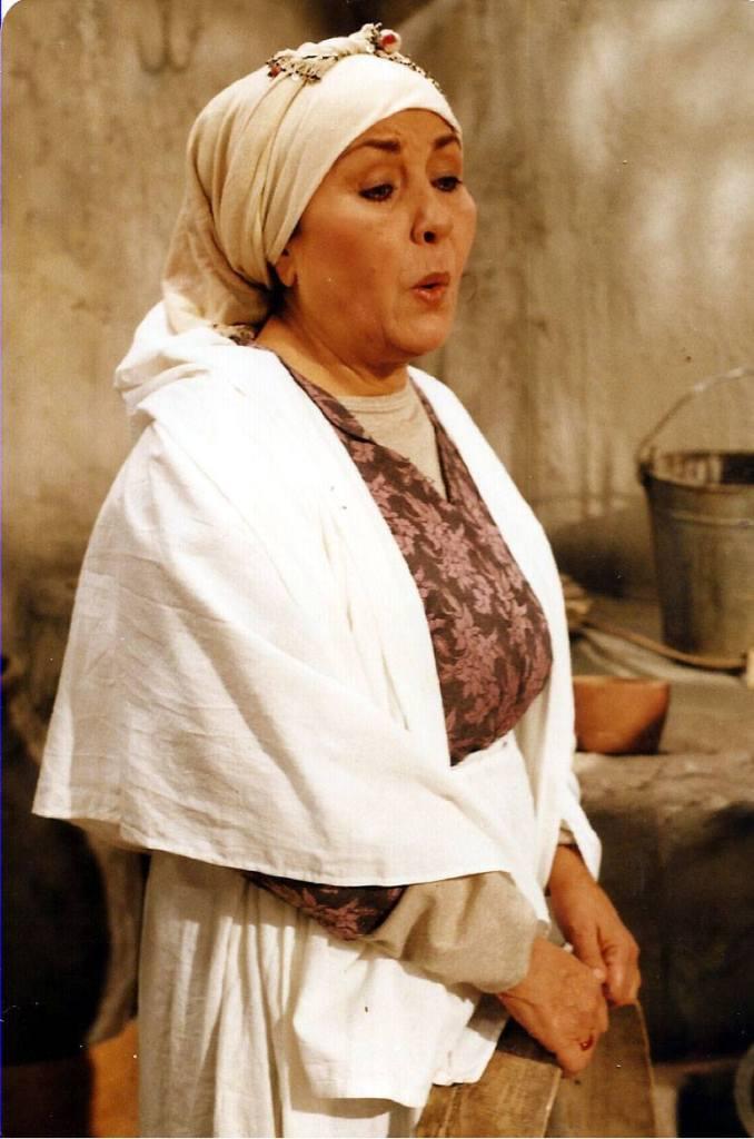 هالة شوكت في مسلسل أيام شامية عام 1992
