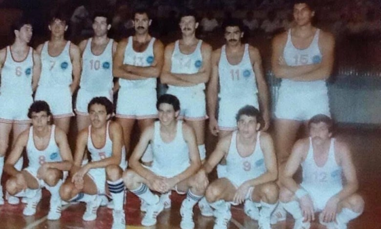 المنتخب السوري لكرة السلة عام 1987 في دورة المتوسط (2)