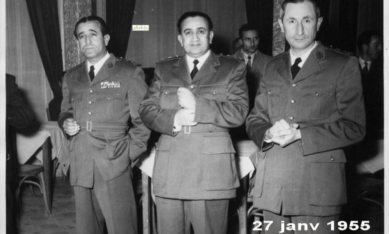 شوكت شقير وتوفيق نظام الدين وآرام كرموكيان 1955