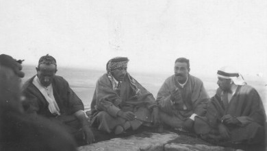 عبد الرحمن الشهبندر وشكري القوتلي و نسيب البكري عام 1926