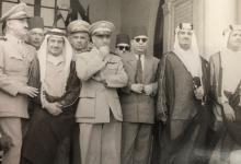 العقيدان أديب الشيشكلي وجمال الفيصل عام 1953 (2)
