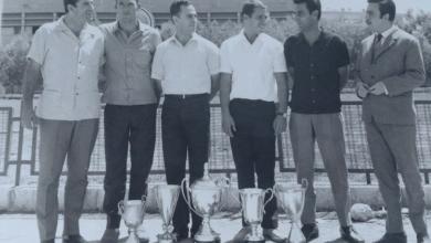 السباحان مروان صالح وجلال زيدان عام 1968