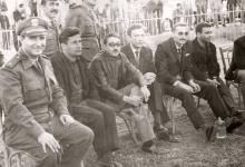 دريد لحام ومحمد العقاد في الملعب البلدي بدمشق عام 1962