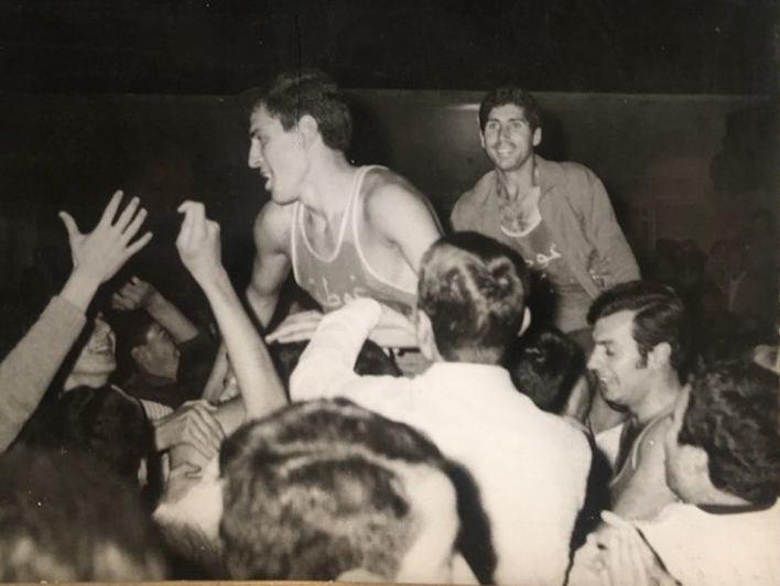 لحظة فوز نادي الغوطة على منافسه نادي الشبيبة عام 1969