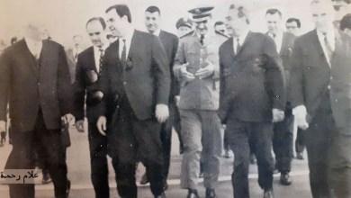 الرئيس نور الدين الأتاسي في زيارة إلى الاتحاد السوفيتي عام 1967