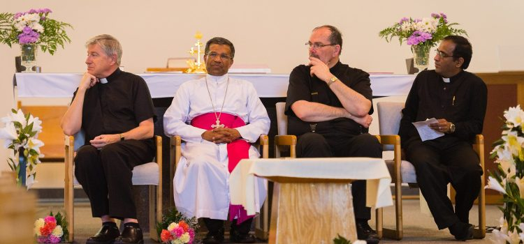 Holy Mass By Mar. Jose Kaluvelil, Confirmation & First Holy communion, Sent off to Fr. Carl