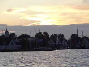 Abendstimmung mit Blick auf Durgerdam