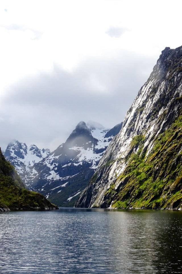 Einfahrt zum Trollfjord