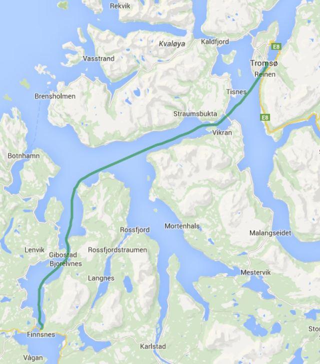 Gisundet - Tromsoe
