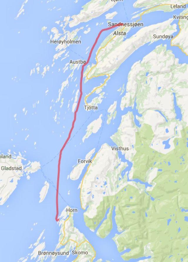 2015-08-14 Sandnessjoen-Straumoya