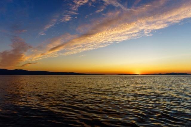 Sonnenaufgang um 05:35 Uhr