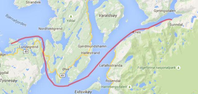 Godøysund - Sundal