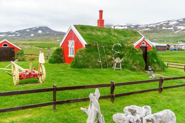 Grassodenhaus in Bakkagerði