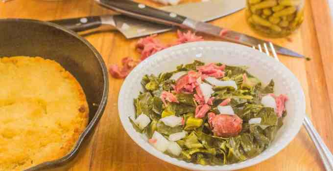 Southern-Style Collard Greens with Ham Hocks