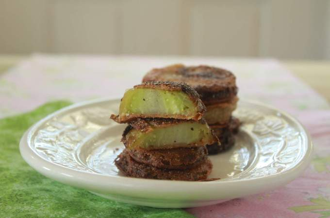 Fried green tomatoes 015