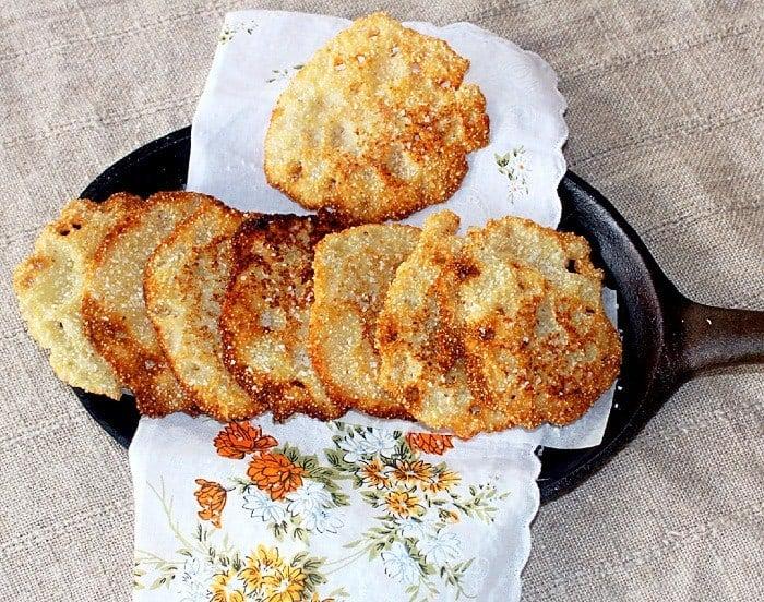 Hot Water Cornbread (Lacey Cornbread)