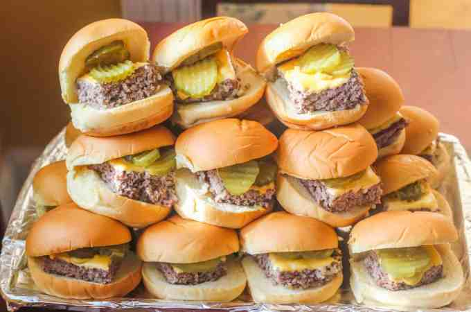 Copycat Krystal Hamburgers.An easy to make version of the original version.