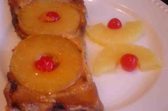 pineapple upside down french toast 017