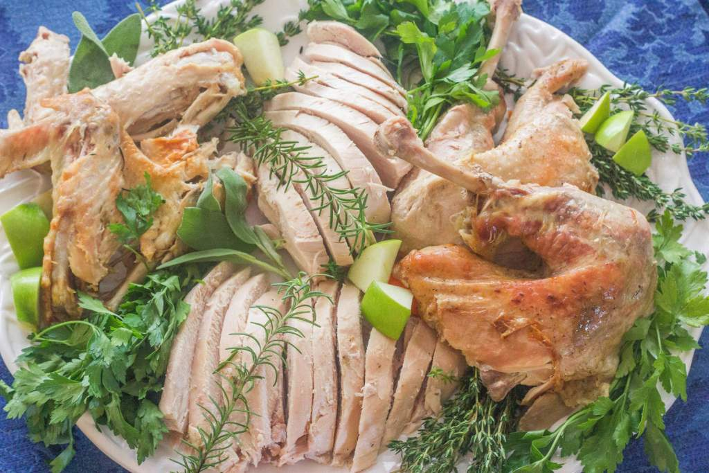 Upside Down, Inside, Outside Turkey. For turkey that's always moist, use this fool-proof method. The white meat is just as juicy as the dark meat.