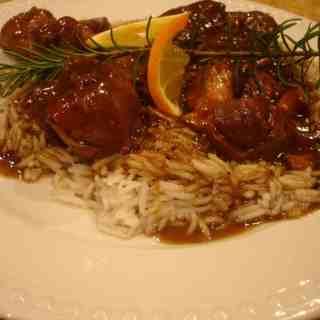 Well Worth the Wait(Recipe: Orange and Rosemary Braised Pork Shanks)