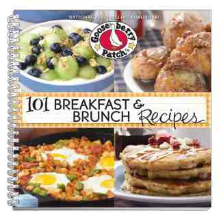 It's a Gooseberry Patch Giveaway! (Cookbook Review: 101 Breakfast and Brunch Recipes; Recipe: PB & J Breakfast Bars)