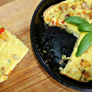 Frittata Your Omelet (Recipe: Bacon Onion Pepper Frittata)