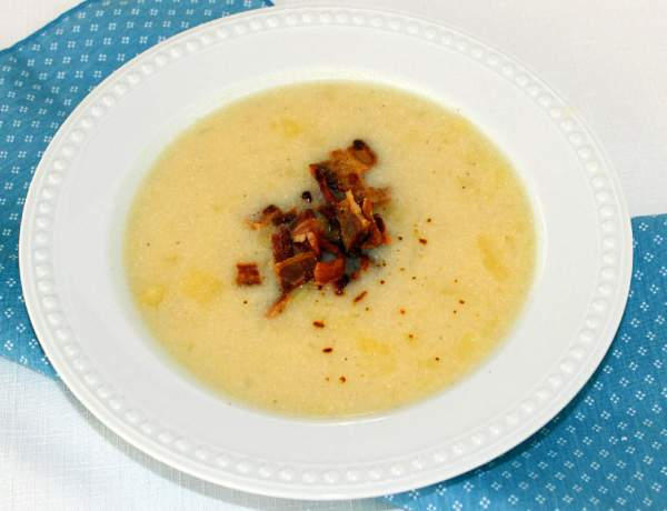 Country Potato Bacon Soup ~ Syrup and Biscuits