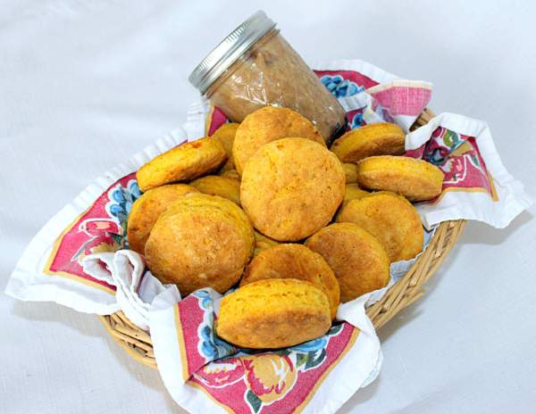 Sweet Potato Butter Biscuits with Honey Cinnamon Butter ~ Syrup and Bsicuits