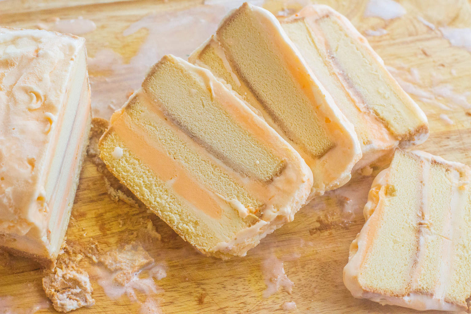 Orange Sherbet Pound Cake Recipe