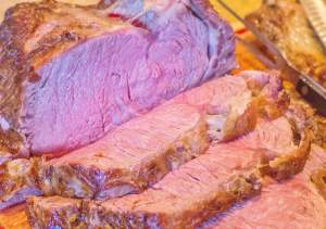 Foolproof Prime Rib Roast with Au Jus. A sure-fire EASY method to cook a picture perfect rib roast every time.