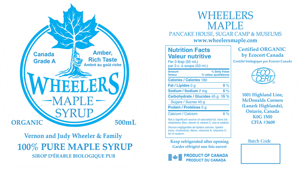 Bourbon Maple Wisconsin Barrel Syrup